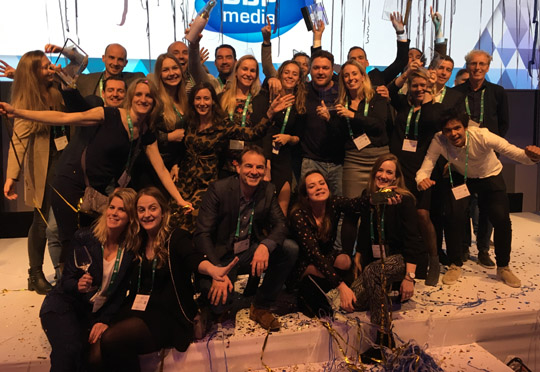 LVB grote winnaar bij Grand Prix Content Marketing 2018