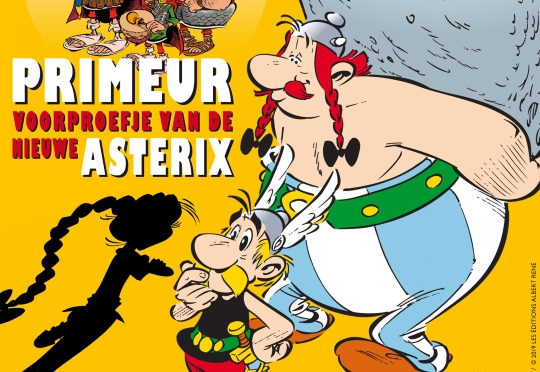 Stripblad Eppo heeft primeur Asterix-album