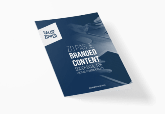 Value Zipper publiceert whitepaper over branded content