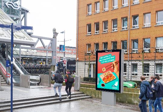 Hillenaar Outdoor met 16 digitale abri's in Den Bosch